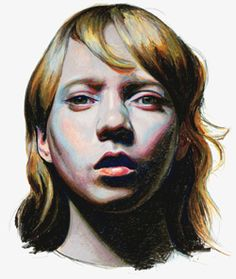 The gorgeous pastel work of Mercedes Helnwein.  More info on her site @http://www.mercedeshelnwein.com/