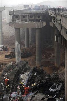 My Way News Photo - China Fireworks Explosion