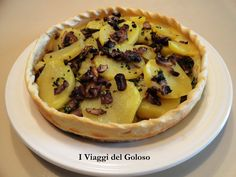 Cestino di funghi e patate, la ricetta su... http://www.iviaggidelgoloso.net/2013/10/torte-salate-cestino-di-funghi-patate.html