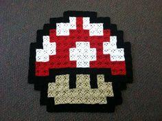 Super Mario Mushroom Rug> Genius!