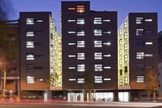 New Student Quarters For Boston University / Tony Owen Partners & Silvester Fuller Education Architecture, Architecture Student, Architecture Photo, Boston University Housing, Student Halls London, Student House, Rooftop Terrace, New Students, Building