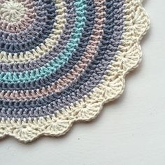 maritparit's #crochet mandala for marinke