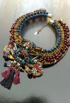 Anita Quansah London beaded collar   Purely Inspiration