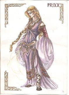 Frigg by Righon on deviantART