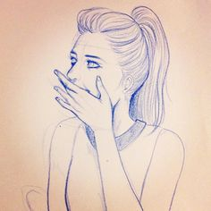 Blue #pencil #sketch #woman #drawings . . #illustration #maresme #igersbarcelona #mataro #dibuix #dona #mujer #fashion #fashionillustration