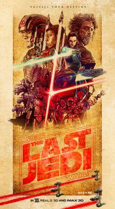 Star Wars Episode VIII: The Last Jedi by Matthew Spurlock and Ren McKinzie