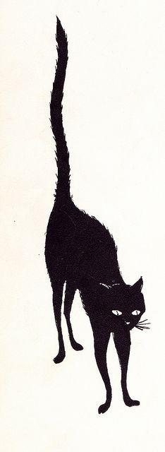 Black Cat by jerkingchicken, via #Romantic Valentine  http://romantic-valentine-days.lemoncoin.org