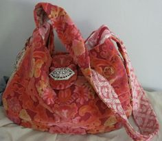 Carpet Bag ...Vintage Velvet Chenille