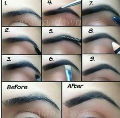 Eyebrows Tutorials