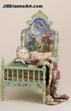 A miniature by Jill Dianne. Photos here of her beautiful work