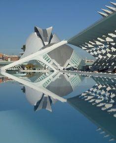 Calatrava, Santiago: City of Arts and Sciences, Valencia, Spain pictures on theredlist.com