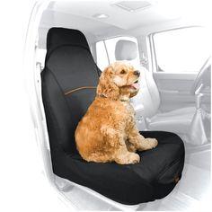 CoPilot Seat Cover - Cubre Asientos Delantero Negro de Kurgo®