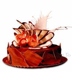 Crema si glazura de ciocolata, foi de rulada si martipan Snack Recipes, Snacks, Bacon, Deserts, Chips, Lunch, Candy, Diet, Cooking