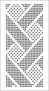 galereya perfokart dlya vyazalnykh mashin 3 i 5 klassa silver reed brother s rapportom 24 petli - PIPicStats Knitting Machine Patterns, Knitting Charts, Loom Patterns, Knitting Stitches, Cross Stitch Patterns, Crochet Patterns, C2c Crochet, Tapestry Crochet, Crochet Squares