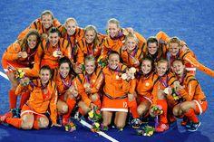 Field hockey - women's  Gold for Team Netherlands