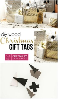 Every gift needs ornaments. Use this DIY idea to tag your gifts!