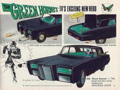 Retro Ads, Vintage Ads, Gi Joe, 1970s Toys, Crime, Green Hornet, Old School Toys, Miniature Cars, Corgi Toys