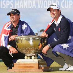 Congrats to Jason Day and Adam Scott