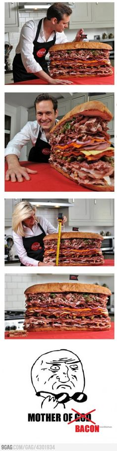Man Vs Food... would give it a go!