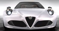 2015 Alfa-Romeo 4C Spider Debuts Welcome Style Enhancements via Classier Headlamps — US Arrival Pushed to 2015 At Earliest