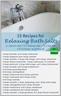 Bath salts with essential oils doterra gift ideas 68 ideas Doterra Essential Oils, Essential Oil Diffuser, Essential Oil Blends, Diy Bath Salts With Essential Oils, Young Living, Bath Salts Recipe, Nails Polish, Alesso, Bath Bombs