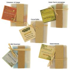 Handmade Shea Butter Soap - Proceeds help feed people. And whats a better gift than handmade soaps?