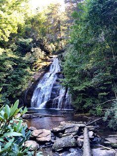 Helton Creek Falls - Blairsville - ideas from 365 Atlanta Family+