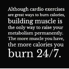 "When people say ""I workout I run or take spin class"" I say sooooo you don't workout then. Doing cardio is great for your heart and go for burning few extra calories to add into workout routine but it's not as effective as weight training. Building muscle is way more beneficial for your body and overall health then just doing cardio. #cresultsfitness #motivation #workout #life #fitness #fit #fitfam #fitspro #hardwork #weightloss #fatloss #gains #hustle #instagood #instamood #personaltrainer…"