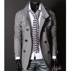 Fashion Mens Coat Jacket