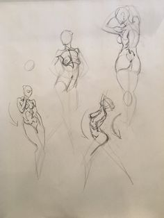 Quick sketch class with Erik Gist! Human Figure Sketches, Figure Sketching, Human Figure Drawing, Figure Drawing Reference, Art Reference Poses, Anatomy Sketches, Anatomy Drawing, Gesture Drawing, Drawing Poses