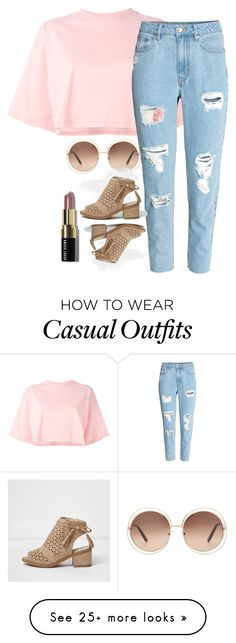 """casual"" by caitlinaj on Polyvore featuring Puma, H&M, Chloé and Bobbi Brown Cosmetics"