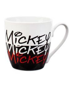 Black & White Mickey Mouse Mug