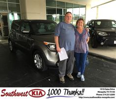 https://flic.kr/p/JB9Gvm   Southwest Kia Mesquite Customer Review   Entire experience today with southwest Kia was a pleasure All of the staff from the start to finish were so easy to talk to and friendly and helpful highly recommend Kia and so happy with our new soul  Jerry, deliverymaxx.com/DealerReviews.aspx?DealerCode=VNDX&R...