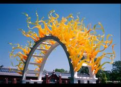 """I'm looking forward to seeing the exhibition """"Chihuly Garden and Glass"""" at the Seattle Center, slated to open in the spring of 2012."""