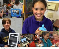 The educational value of 3D printing is really powerful when students are designing what they need.
