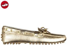 Car Shoe Damen Leder Mokassins Slipper daino drive Gold EU 37.5 KDD0063D7QF0522 - Slipper und mokassins für frauen (*Partner-Link)