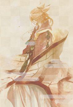 Souza Samonji  「宗三左文字」/「ねろこ」のイラスト [pixiv] Touken Ranbu,