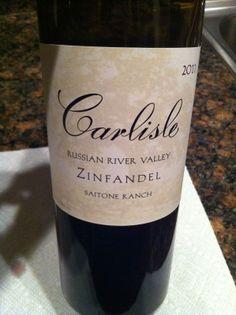 Wino 4 Life: Weekly Wine Review - Sonoma Zinfandel - 2011 Carlisle Zinfandel Saitone Ranch