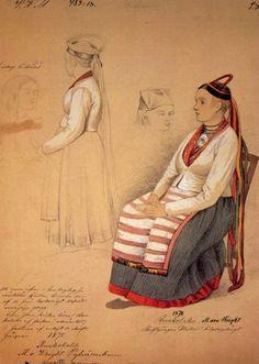 Finland traditional dress PC, via Flickr.