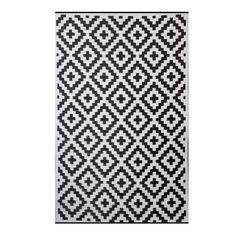 Found it at Wayfair - Premier Home Hand-Woven Black/White Indoor/Outdoor Area Rug