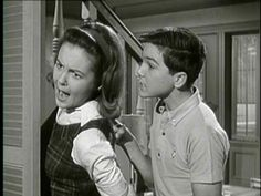 """Shelley Fabares as """"Mary"""", and Paul Peterson as """"Jeff"""" in The Donna Reed Show- Jeff is the favorite at my house! lol"""