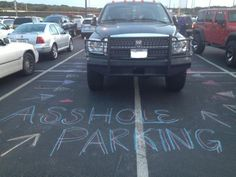 How To Deal With The Whole Parking Problem  // funny pictures - funny photos - funny images - funny pics - funny quotes - #lol #humor #funnypictures