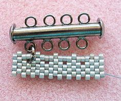Genius! I was just looking for a solution to attach a beaded piece to a metal loop component with jump rings. Thank you!