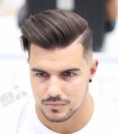 Men's Hairpiece Human Hair Toupee Wig Super Thin Skin Hair Replacement ( Off Black) Mens Modern Hairstyles, Mens Hairstyles 2018, Mens Hairstyles With Beard, Hair And Beard Styles, Hairstyles Haircuts, Haircuts For Men, Short Hair Styles, Hair Toupee, Mens Toupee