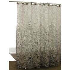 Casablanca Earth Shower Curtain | Overstock.com Shopping - The Best Deals on Shower Curtains