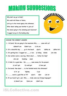 Grammar suggestions