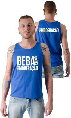 Dica #palcofashion #Camiseta - Beba com Moderação #moda #fashion