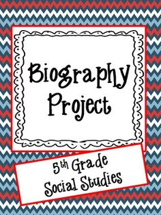 205 Best Biography Project Images On Pinterest Teaching Social