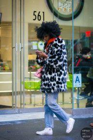 STYLE DU MONDE / New York Fashion Week Fall 2017 Street Style: Julia Sarr-Jamois  #Fashion, #FashionBlog, #FashionBlogger, #Ootd, #OutfitOfTheDay, #StreetStyle, #Style
