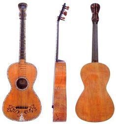 """Chitarra """"Gennaro Fabbricatore"""" - Napoli 1809   ...la chitarra di Mauro Giuliani..."""